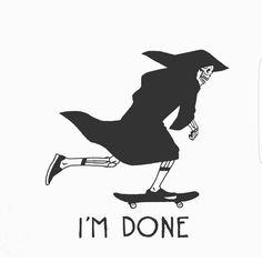 🤦🏽♀️ yo gurl is tired! Blackwork, Tattoo Drawings, Art Drawings, Arte Dope, Arte Obscura, Skate Art, Skeleton Art, Desenho Tattoo, Wow Art
