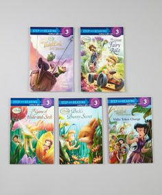 Take a look at this Fairy Adventures Set by Disney on #zulily today!