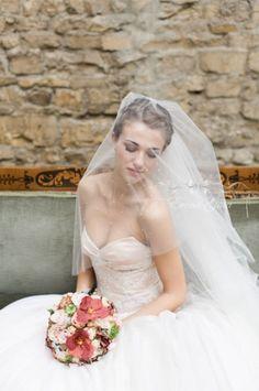 Bride - Veil  Atelier Aimee dress Wedding dress