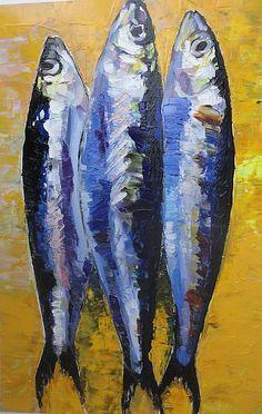 """Résultat de recherche d'images pour """"sardines in art"""""""