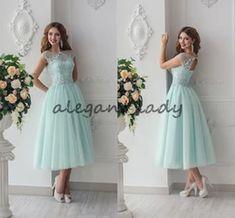 Tea Length Winter Short Bridesmaid Dresses | Bridesmaids' & Formal Dresses - DHgate.com