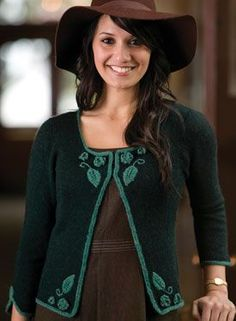 Beverly Cardigan Pattern - Knitting Patterns by Snowden Becker
