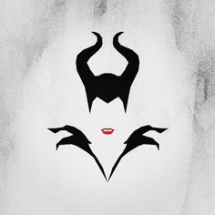 Minimaléfique. #maleficent #minimalist #break #pause #minimaliste #design #graphisme #toulouse #disney #cinema #angelinajolie #lapauseminimaliste #instagood #instadesign #rougealevres #badbitch   Flickr - Photo Sharing!