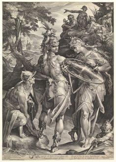 Bartholomeus Spranger (Flemish, 1546-1611). Minerva and Mercury Arming Perseus, 1604. The Metropolitan Museum of Art