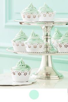 Decoración de boda rosa y verde menta - Boda elegante y alegre 13