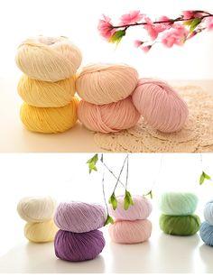 Livraison gratuite coton biologique tricot à la main fil super doux 500 gramas/lote 10 balles de chandails babay fil dans Fil de Maison & Jardin sur AliExpress.com | Alibaba Group