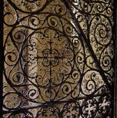 Wrought Iron at Victorian Chapel