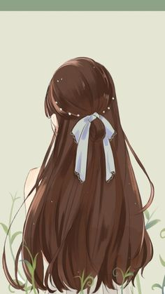 When you care for your hair your whole life changes. Good hair tells other people that you are put together. Pretty Anime Girl, Beautiful Anime Girl, Kawaii Anime Girl, Anime Art Girl, Girly Drawings, Anime Girl Drawings, Anime Oc, Anime Hair, Red Hair Girl Anime