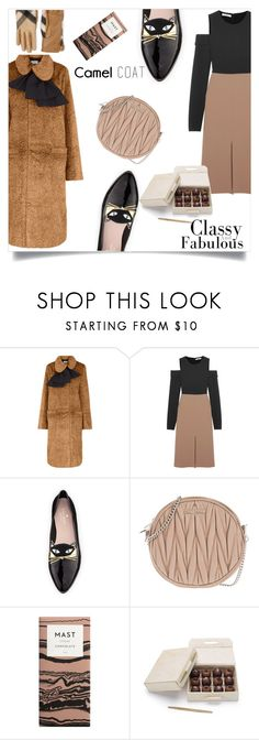 """Untitled #231"" by elatralala ❤ liked on Polyvore featuring Isa Arfen, TIBI, Kate Spade, Miu Miu and Burberry"