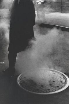 Louis Stettner - Manhole Times Square, 1954 #urban #NYC
