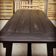 Rustic Farmhouse Table.  Plank Table.   By CJ Walk