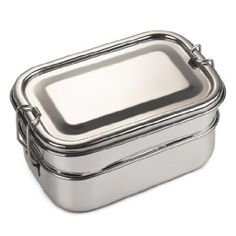 Bare Ware Three Layer Stainless Steel Lunch Box Set - Lunch boxes for men Lunch Boxes For Men, Lunch Box Set, Cool Lunch Boxes, Adult Lunch Bag, Thermal Lunch Box, Sushi Lunch, Lunch Box Containers, Tiffin Box, Stainless Steel Lunch Box