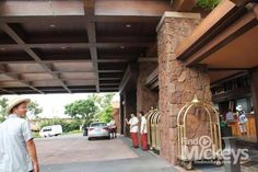 There is Hidden Menehune in the Valet Parking Area of Disney's Aulani Lobby.
