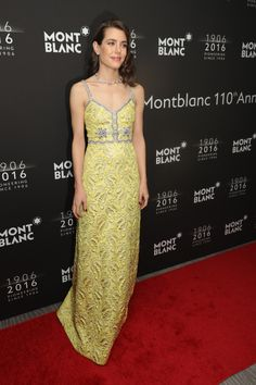 Charlotte Casiraghi Wears Gucci to a Montblanc Gala-Wmag