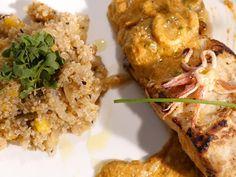 Frutos do Mar com Molho de Pitanga e Salada de Quinoa - Food Network