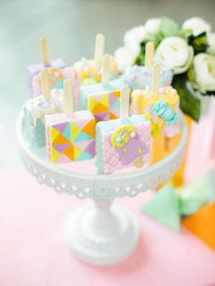 Jillian and Jilleen's Sweet Shoppe Themed Party – Birthday Birthday Candles, Birthday Cake, Debut Ideas, Party Needs, Wonderland Party, Sugar Rush, Host A Party, Rice Krispies, Mini Cupcakes