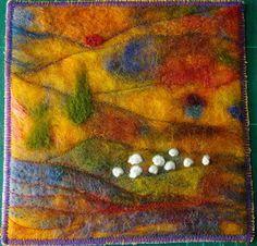 Stof tot nadenken: De kleuren van Cézanne.......