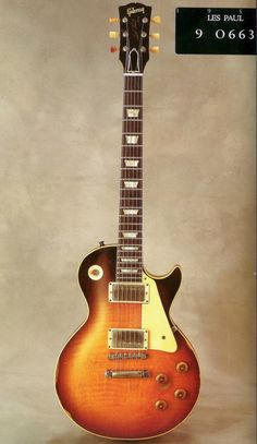 Joe Perry's 1959 Les Paul and I flipping love Joe Perry