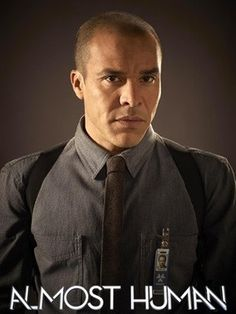 Michael Irby as Detective Richard Paul. #AlmostHuman