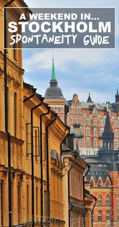 A weekend guide to Stockholm without breaking the bank: