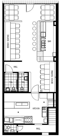 cafe floor plan
