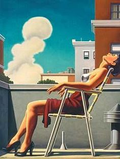 A arte de Kenton Nelson. American Scene Painting, Jack Vettriano, Grant Wood, Art Deco Posters, Art Moderne, Pulp Art, Art Plastique, American Artists, Watercolor Techniques
