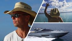Take a Peek at Kenny Chesney's Boat (Amazing Yacht) Top Country Songs, Country Music Stars, Country Boys, Kenny Chesney Tour, Kenny Chesney Songs, Kenny Chesney Come Over, Country Music Artists, Country Singers, Kenney Chesney