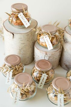 You don't want to miss these 10 adorable DIY's for your fall nuptials! Seed Wedding Favors, Diy Wedding Gifts, Unique Wedding Favors, Wedding Ideas, Diy Gifts, Wedding Colors, Roasted Pumpkin Seeds, Cheap Favors, Rustic Wedding Signs