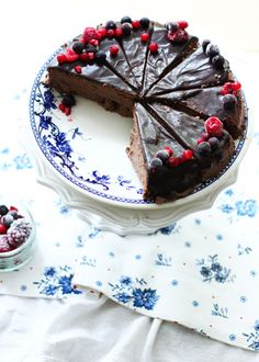 *Chocolate cheesecake