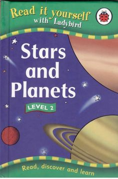 Ladybird - Read it Yourself - Level 2 - Stars and Planets - Hardcover - S/Hand