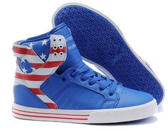2987264bfe0f Find Supra Skytop Blue America Flag Men s Shoes Top Deals online or in  Pumacreeper. Shop Top Brands and the latest styles Supra Skytop Blue  America Flag ...