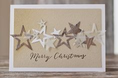 9 More Easy Homemade Christmas Cards with Step by Step Instructions – DIY Fan Homemade Christmas Cards, Christmas Cards To Make, Homemade Cards, Handmade Christmas, Holiday Cards, Christmas Crafts, Christmas Colors, Christmas Wreaths, Ideas Scrapbook
