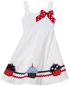 Cute idea for a July 4th Dress