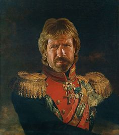 Chuck Norris & Co. in ihren besten Rollen – Celebrities as russian generals