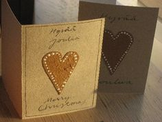 Joulukortteja Christmas Cards, Xmas, Diy Cards, Handmade Cards, Handmade Christmas, Kids And Parenting, Card Making, Crafty, Paper