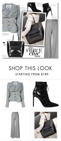 """""""Kulikstyle"""" by smajlovicelvira ❤ liked on Polyvore featuring Vivienne Westwood, Yves Saint Laurent and Alexander McQueen"""