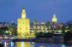 Tower of Gold in Seville, Spain