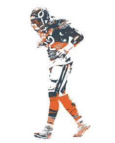 Le'Veon Bell Steelers by Jeff Lang Sports art, Football