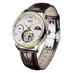 The JIUSKO Tourbillon. The grail for collectors, or anyone who wants to make the ultimate statement with his watch! The tourbillon movement was patented in 1801 by French watchmaker Abraham-Louis Breg