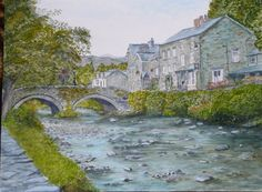 Beddgelert, Wales by Nancy Cervantes