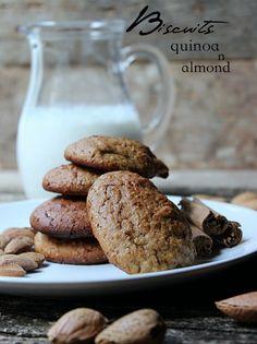 Biscotti con quinoa e mandorle.