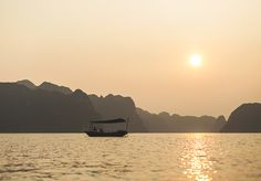 Right now I'm resting in a hammock suspended above a private beach in a sea of islands that many believe to be the most beautiful place on earth—other worldly, even. Most Beautiful, Beautiful Places, Jenna Sue, Hanoi Vietnam, Earth, Island, Mountains, Sunset, Blog