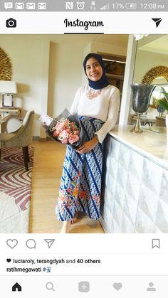 Gamis batik parang  Batik  Pinterest