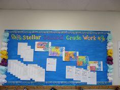 second grade bulletin board ideas   Second Grade - Fall 2011