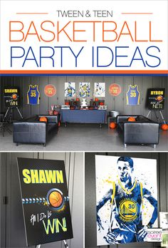 Basketball Party Ideas For Teens Tweens