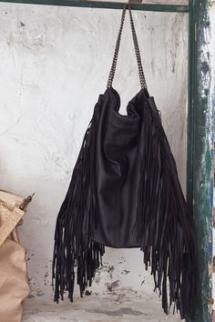 Fringe Bag from Marrakech! Oh la la! #curatedworld #morocco $345