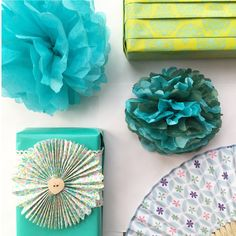 Lime and Turquoise by Jane Means