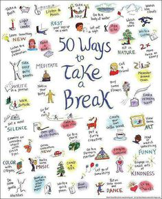 50 Ways To Take A Break, And The Essential First Step Of Remembering Managing stress is crucial to controlling your IC. How do you manage your every day stress?Managing stress is crucial to controlling your IC. How do you manage your every day stress? Social Work, Social Skills, Social Media, Coaching, When Youre Feeling Down, Pause, School Counseling, Me Time, Time To Relax