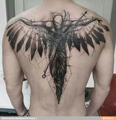 This gallery contains 20 awesome angel tattoos, #15 will leave you breathless. Angel tattoos are some of the most popular tattoo designs of all. Not only are angel tattoos beautiful to look at, but...