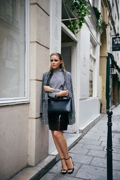 mango coat |  Hermès bag | kayture